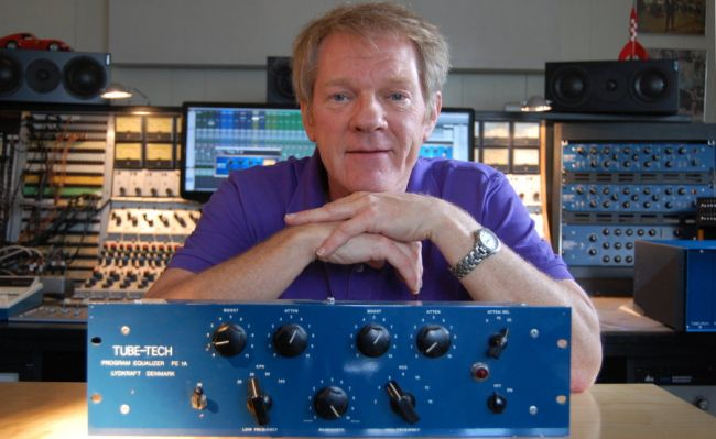 TUBE-TECH John G.Petersen with the very first unit, the PE1A Program EQ.jpg
