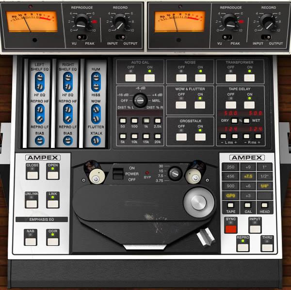 Audiozone cz • Recenze - Emulátory magnetického záznamu zvuku