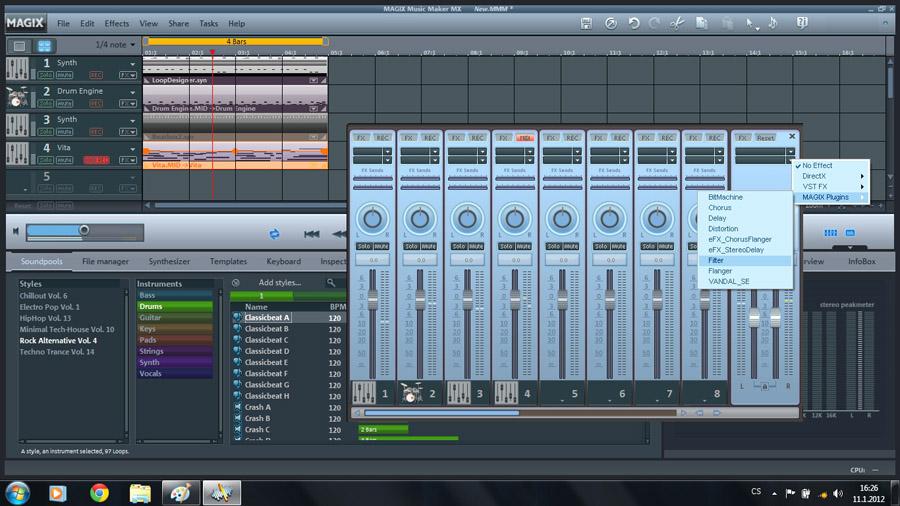Audiozone • Recenze - MAGIX Music Maker MX 18