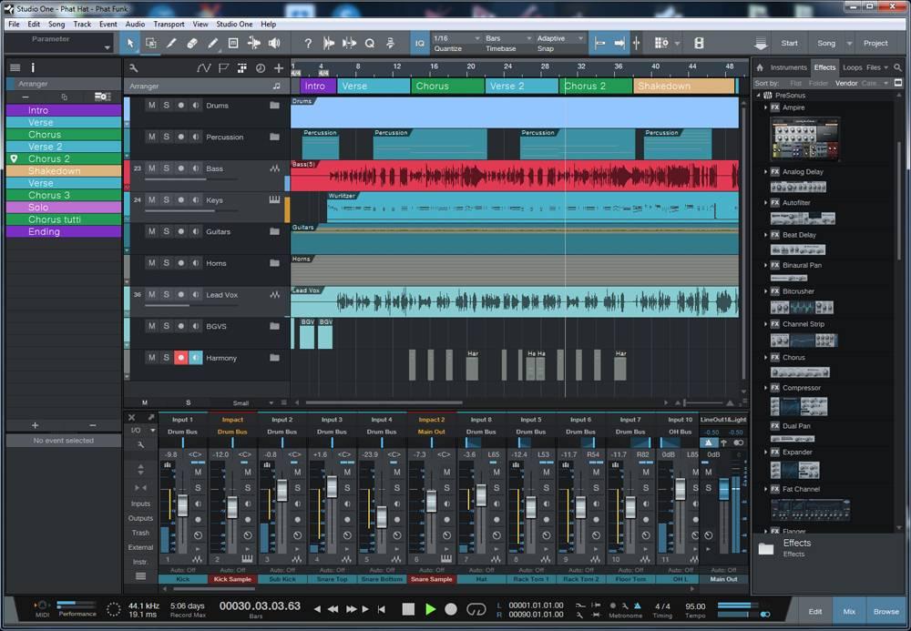 mastering in presonus studio one 3