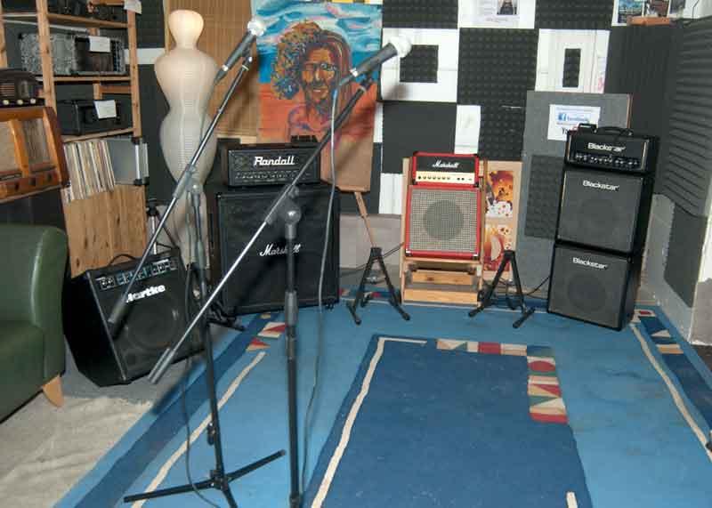 Live room a zkušebna
